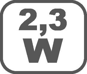 2,3 Watt