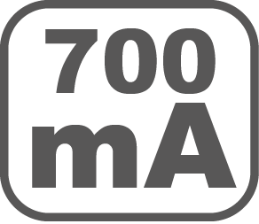 700 mA