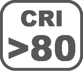 CRI/>80